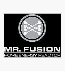 Mr. Fusion Photographic Print