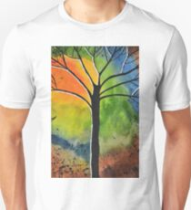 Sun Rise in the West Unisex T-Shirt