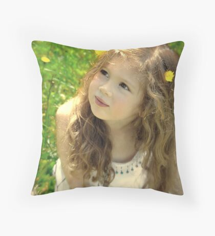 My Muse.. Throw Pillow