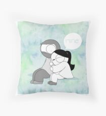 Mine - Watercolor Floor Pillow