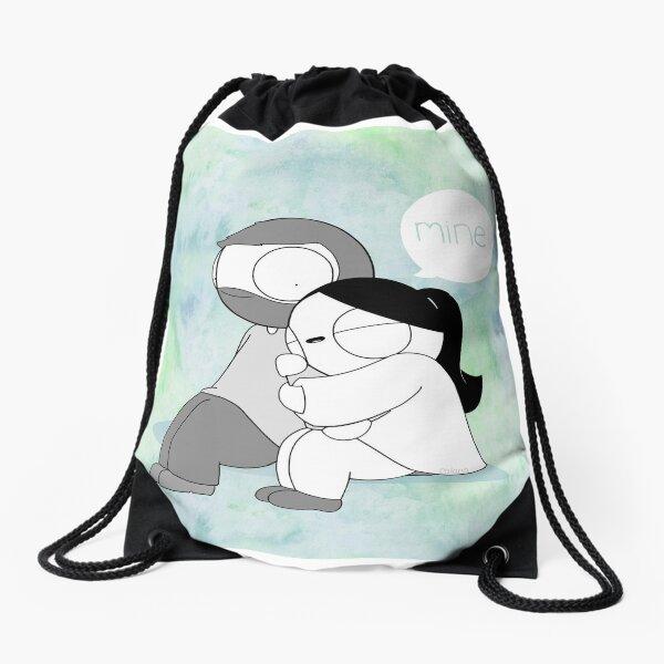Mine - Watercolor Drawstring Bag