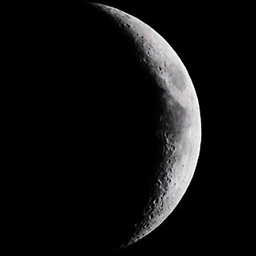waxing crescent by tjrider93
