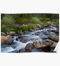 Rock Creek, Eastern Sierra Poster