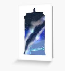 Geronimo Tardis Greeting Card