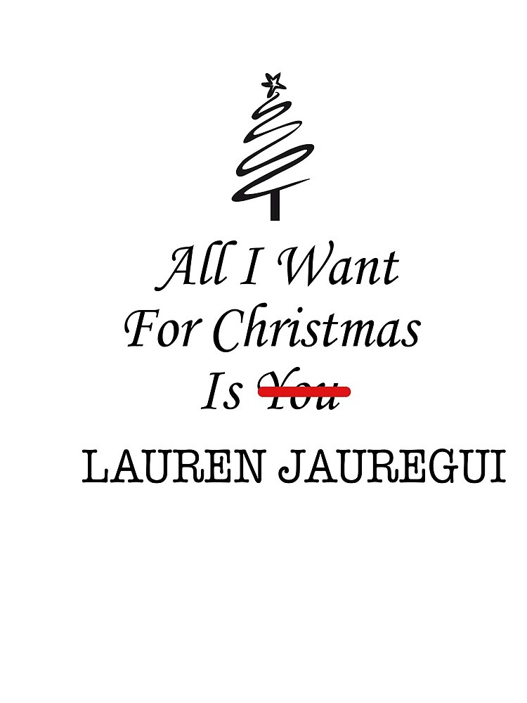All I want is Lauren de AAbi