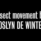 Insect movement by Roslyn De Winter by tvcream