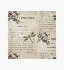 Pride and Prejudice Watercolour Tribute First Page Scarf