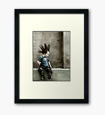 Young Punx Framed Print