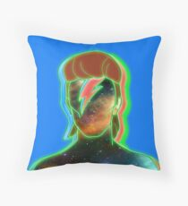 STARMAN/ Neon nostalgia tribute Throw Pillow