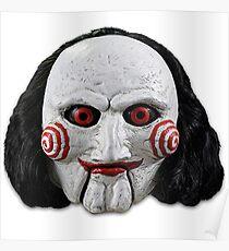 billy the puppet merch! Poster