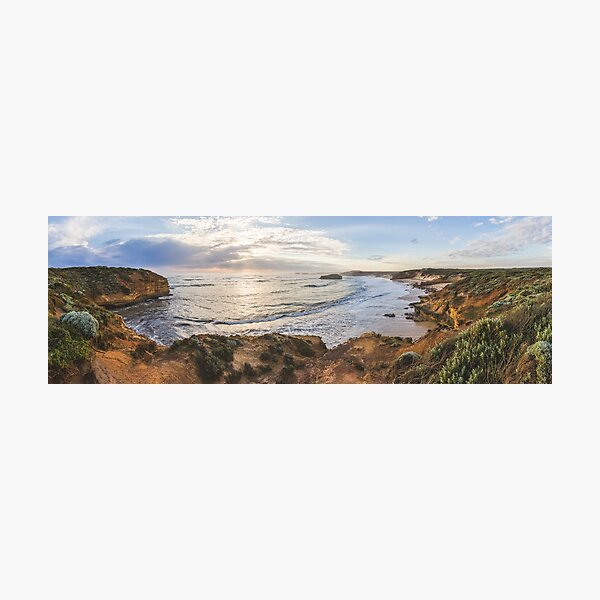 Bay of Martyrs sunset panorama Photographic Print