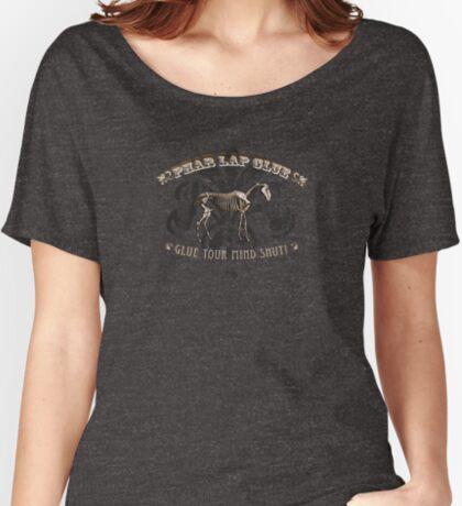 Phar Lap Glue Women's Relaxed Fit T-Shirt