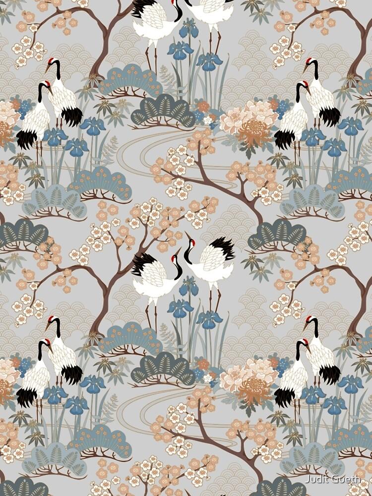 Japanese Garden Gray by juditgueth