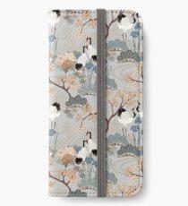 Vinilo o funda para iPhone Jardín japonés gris