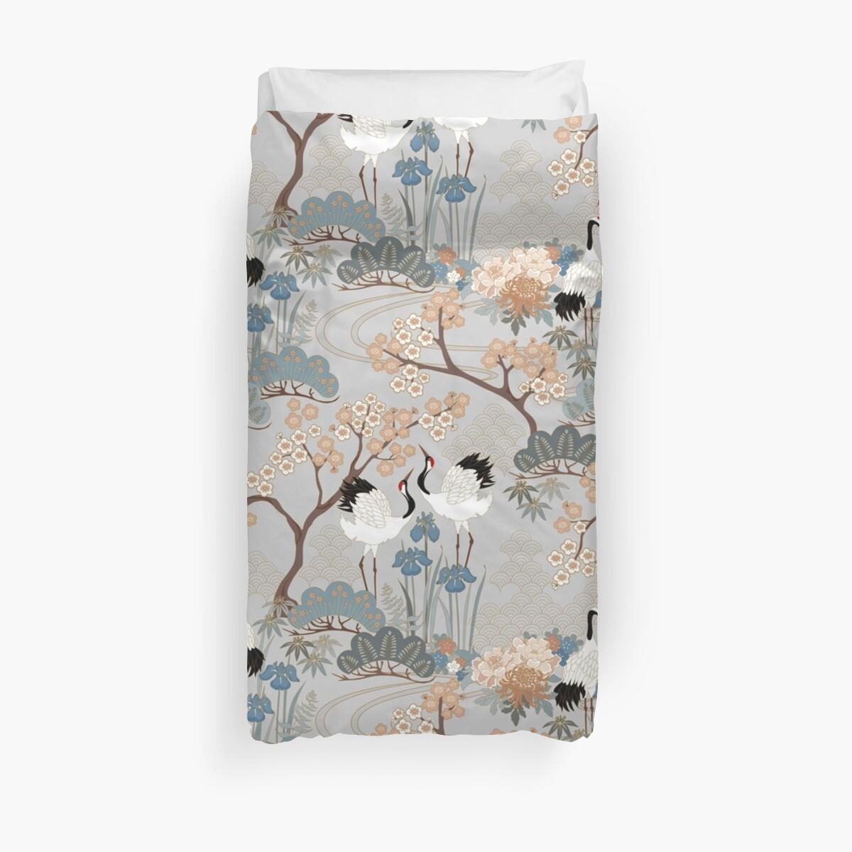 Japanese Garden Gray by Judit Gueth
