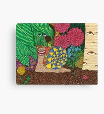 Snail's Eye View Canvas Print