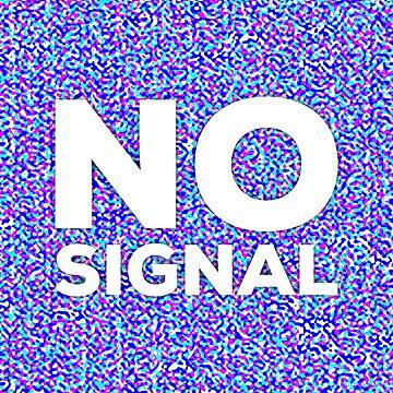 No signal. RGB noise pattern by pattypattern
