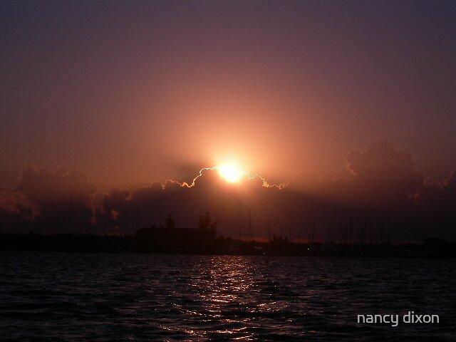 Miami Sunrise by nancy dixon