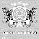 Dirty Warble Sri Yantra by David Avatara