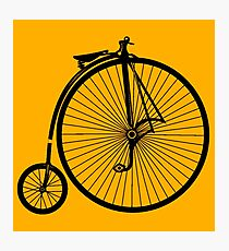 Penny-Farthing Bicycle Photographic Print