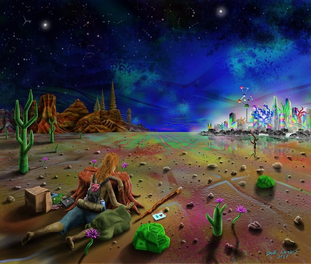 Deserted Digital by Brett Warniers
