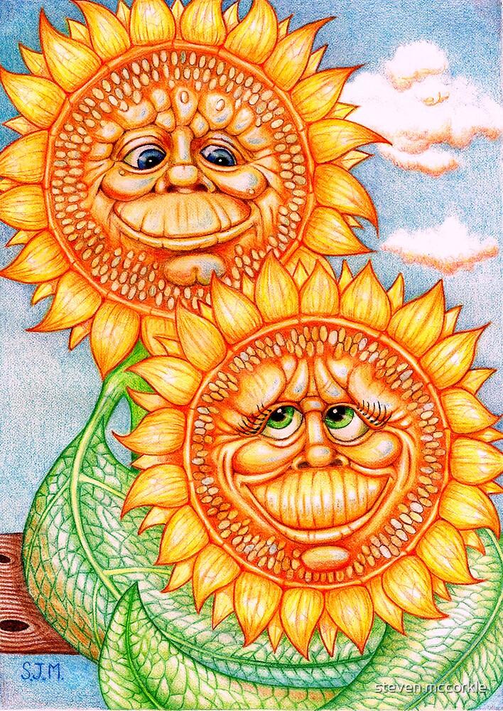 Sunflowers by steven mccorkle