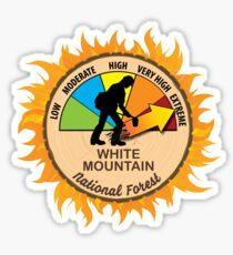 White Mountain National Forest Wildland Firefighter Sticker