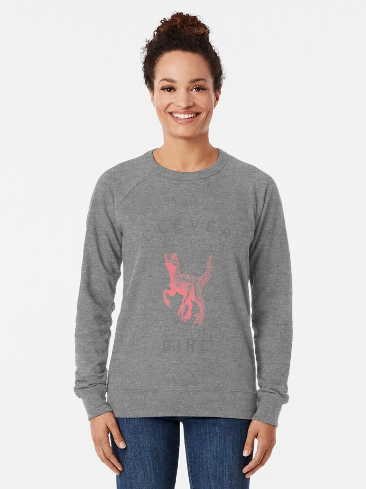 Alternative Ansicht von Kluges Mädchen Leichter Pullover
