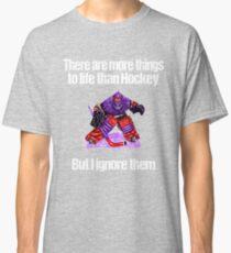More Things To Life Than Hockey Classic T-Shirt