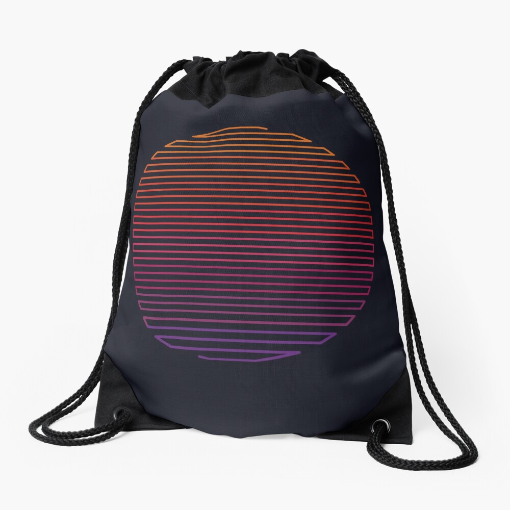 Linear Light Drawstring Bag
