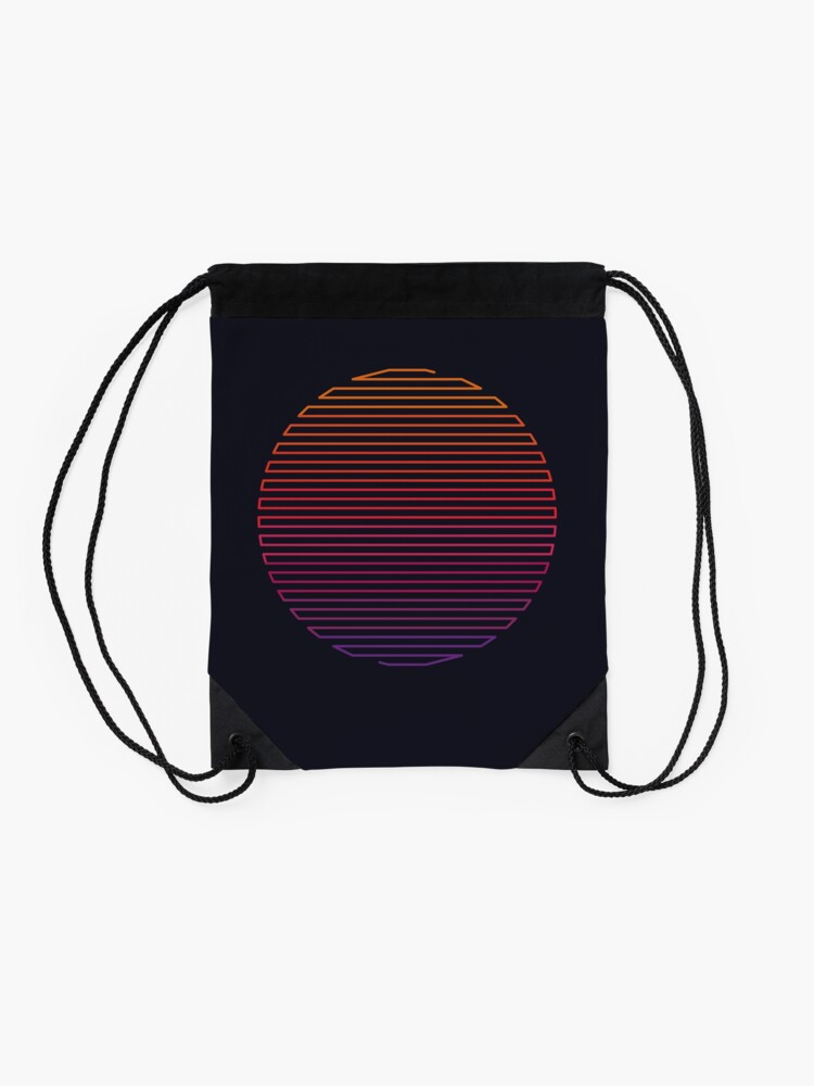 Alternate view of Linear Light Drawstring Bag