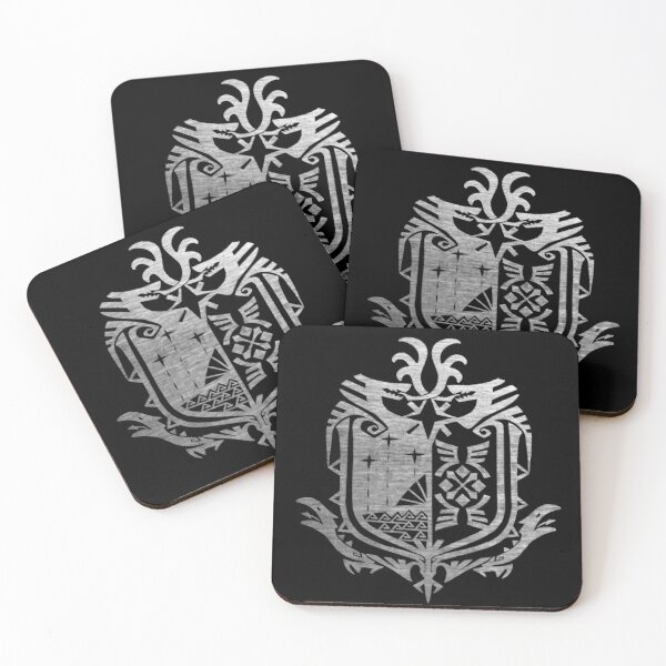 Monster Hunter World Coasters (Set of 4)