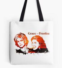 Grace and Frankie Splatter Tote Bag