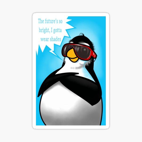 Penguin Fun - Cool Times Sticker