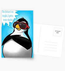 Penguin Fun - Cool Times Postcards