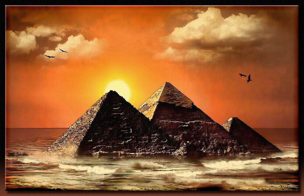 The Egyptian Ocean by Richard  Gerhard