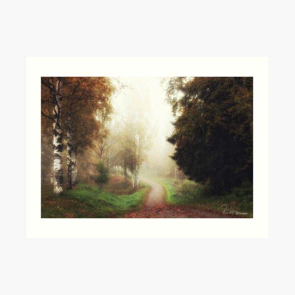 Towards unknown Art Print