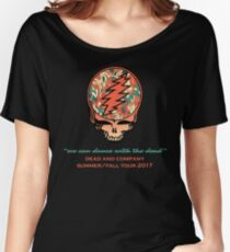 Dead and Company Steal Your Face Wildfire Women's Relaxed Fit T-Shirt