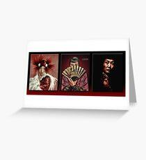 The Anna May Wong Series Greeting Card