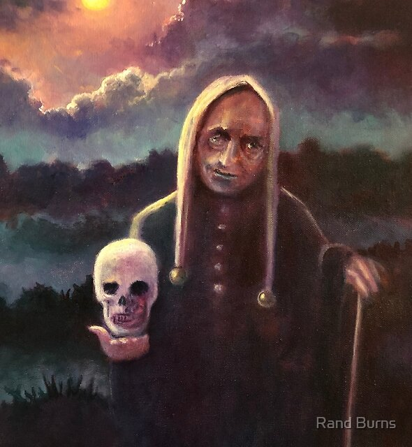The Floating Skull by Randy Burns