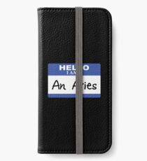 Hello I am an Aries iPhone Wallet/Case/Skin