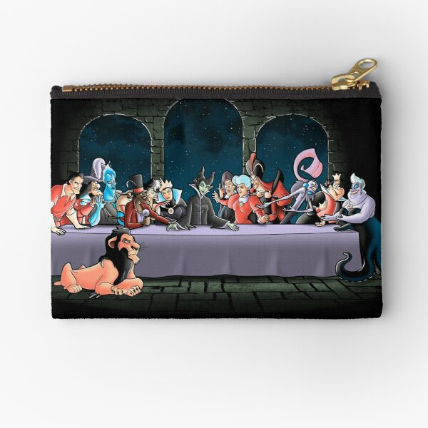 Bad dinner Zipper Pouch