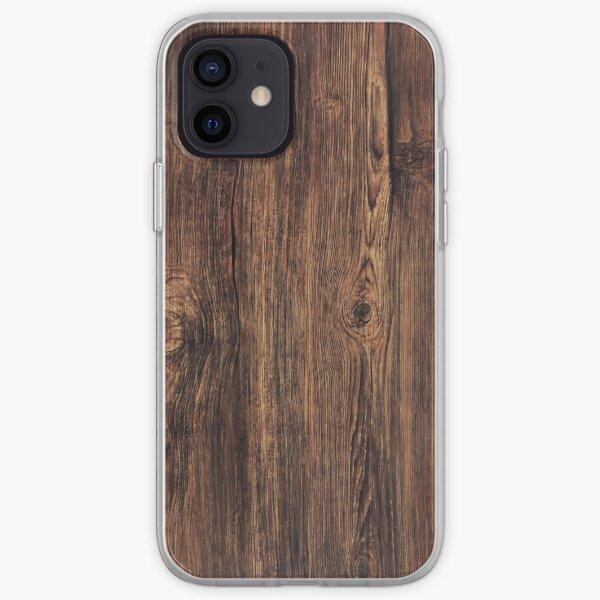 oak texture  iPhone Soft Case