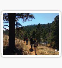 Hiking The Apex Park Trail Colorado Sticker
