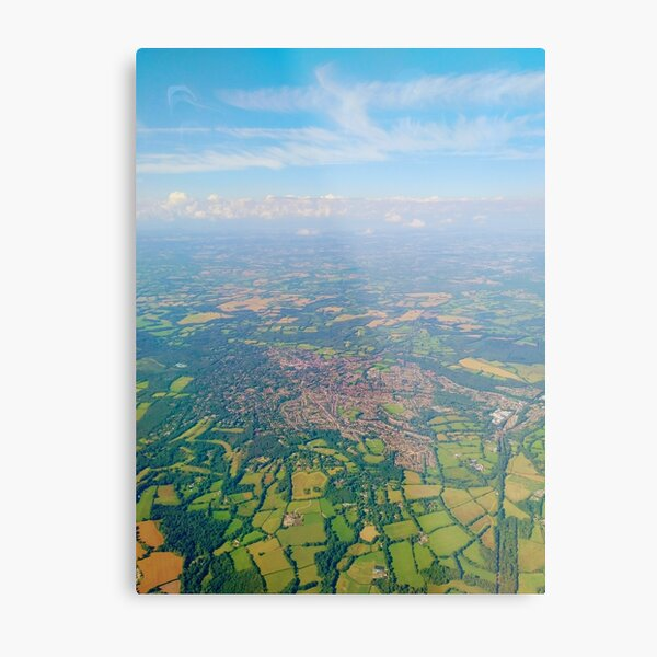 England from above Metal Print