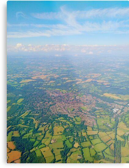 England from above by TalBright