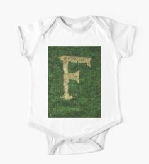 Knitted 'F' Kids Clothes