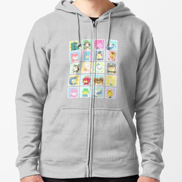 Animal Crossing Zipped Hoodie