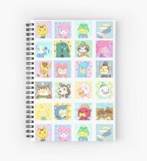 Animal Crossing Spiral Notebook
