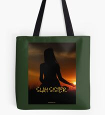 State Of Slay - Slay Sister Green Tote Bag